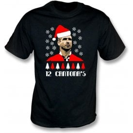 12 Days Of Cantona (Manchester United) T-Shirt