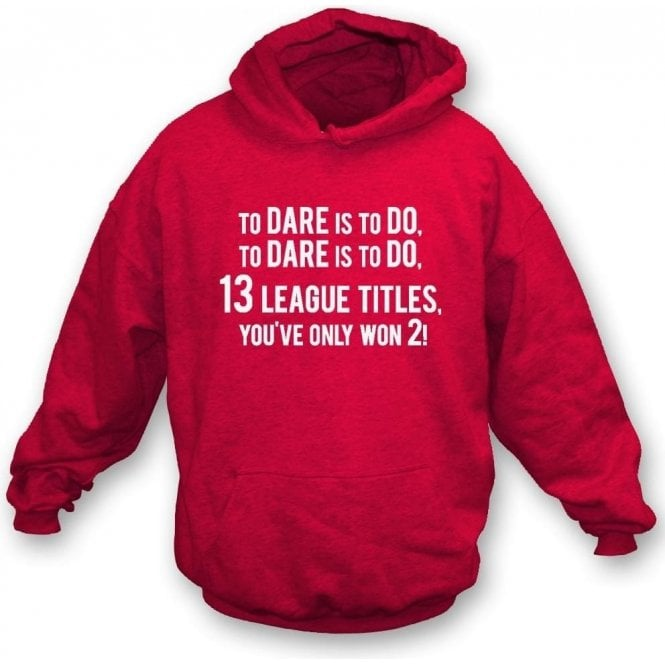 13 League Titles... (Arsenal) Kids Hooded Sweatshirt