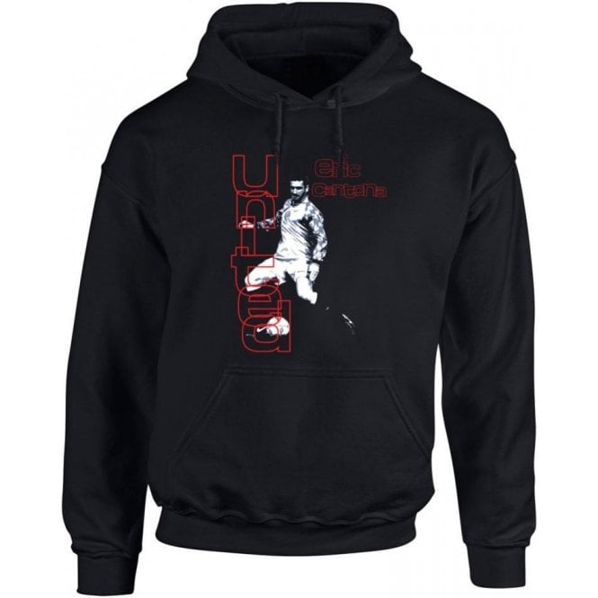90's Eric Cantona (As Worn By Morrissey) Hooded Sweatshirt