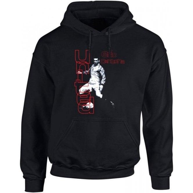 90's Eric Cantona (As Worn By Morrissey) Kids Hooded Sweatshirt