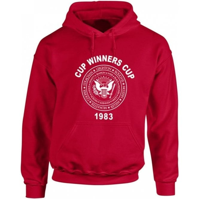 Aberdeen Cup Winners Cup 1983 Kids Hooded Sweatshirt