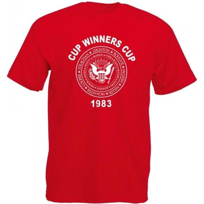Aberdeen Cup Winners Cup 1983 T-Shirt