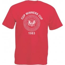 Aberdeen Cup Winners Cup 1983 Vintage Wash T-Shirt