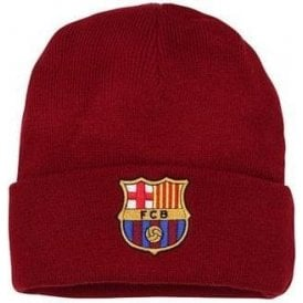 Adult Barcelona FC Core Beanie