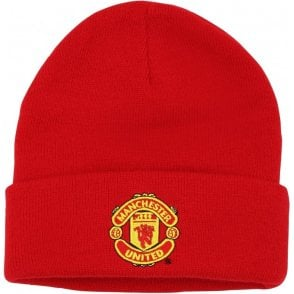Adult Manchester United FC Core Beanie