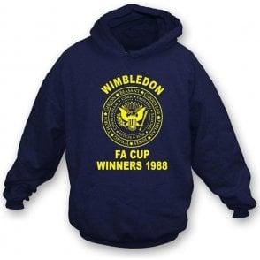 (AFC) Wimbledon 1988 FA Cup Winners (Ramones Style) Hooded Sweatshirt