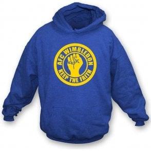 AFC Wimbledon Keep the Faith Hooded Sweatshirt