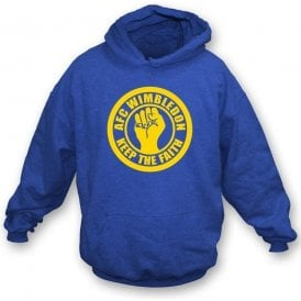 AFC Wimbledon Keep the Faith Hooded Sweatshirt