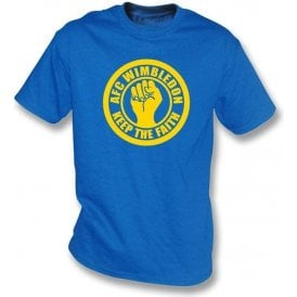 AFC Wimbledon Keep the Faith T-shirt
