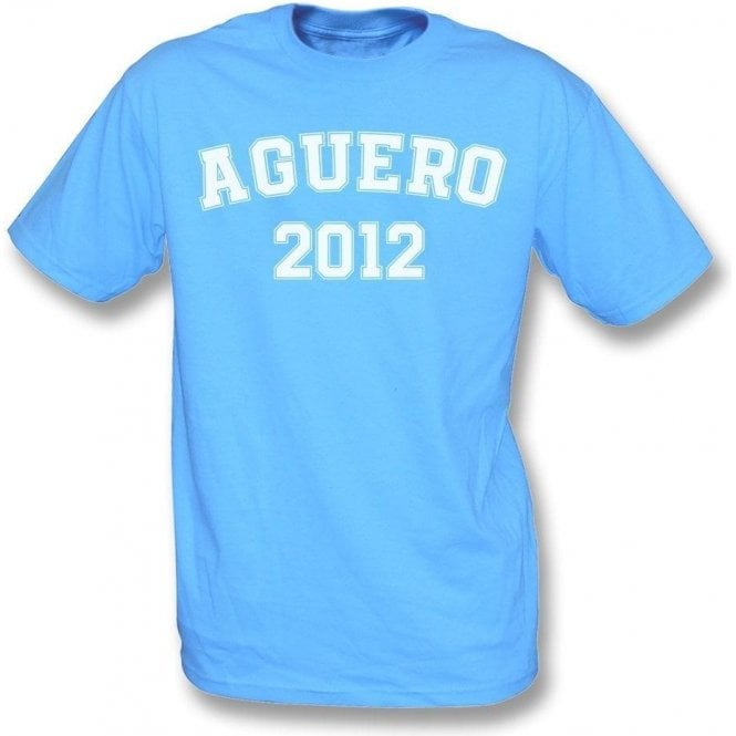 Aguero 2012 (Manchester City) Kids T-Shirt