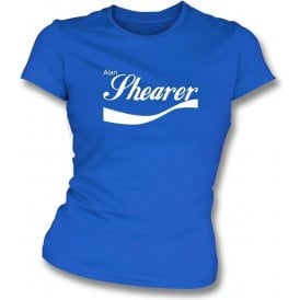 Alan Shearer (Newcastle/Blackburn) Enjoy-Style Womens Slim Fit T-Shirt