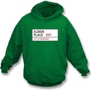 Albion Place EH7 Hooded Sweatshirt (Hibernian)