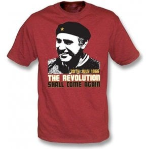 Alf Ramsey-The Revolution Shall Come Again t-shirt