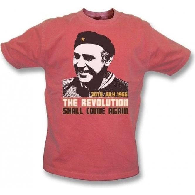 Alf Ramsey-The Revolution Shall Come Again vintage wash t-shirt