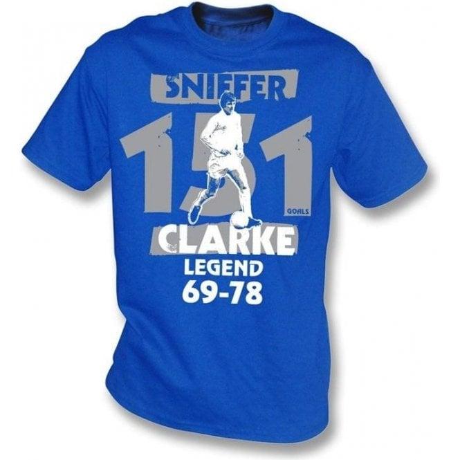 Allan Sniffer Clarke t-shirt