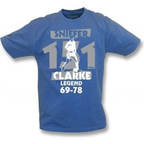 Allan Sniffer Clarke vintage wash t-shirt