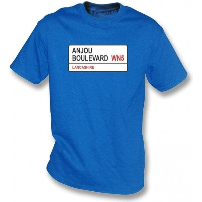 Anjou Boulevard WN5 T-Shirt (Wigan Athletic)