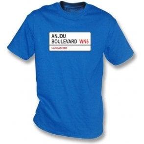 Anjou Boulevard WN5 T-Shirt (Wigan Athletic)
