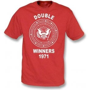 Arsenal Double Winners 1971 T-shirt