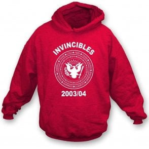 Arsenal Invincibles 2003/04 (Ramones Style) Hooded Sweatshirt