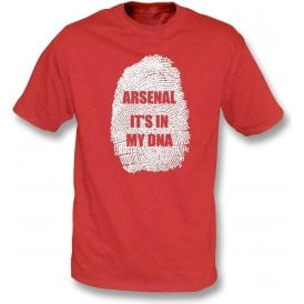 Arsenal - It's In My DNA T-Shirt