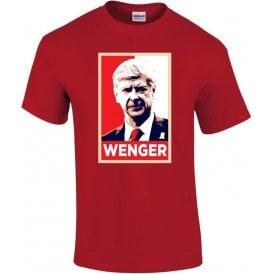 Arsene Wenger - Hope Poster (Arsenal) Kids T-Shirt