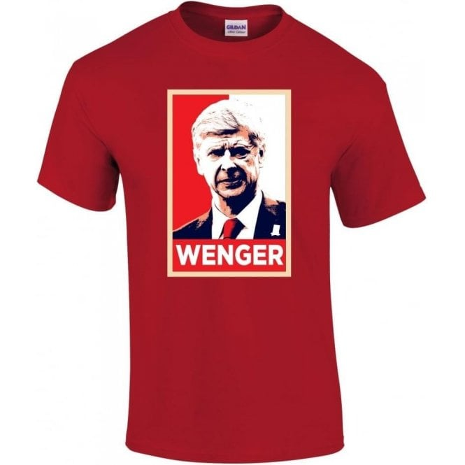Arsene Wenger - Hope Poster (Arsenal) T-Shirt