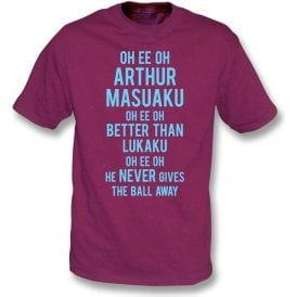 Arthur Masuaku (West Ham) Chant Kids T-Shirt