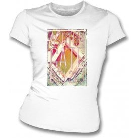 Ashton Gate BS3 2EJ (Bristol City) Womens Slimfit T-Shirt