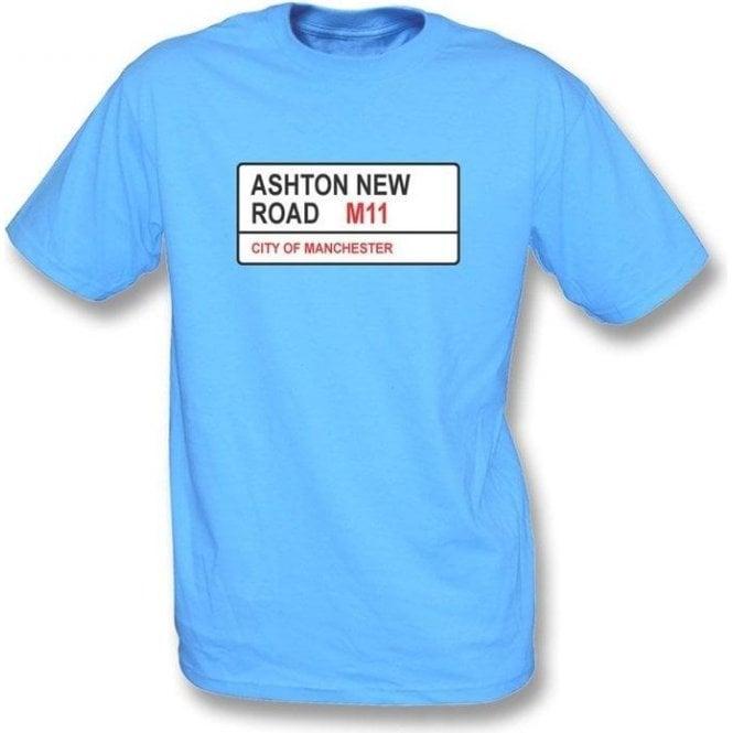 Ashton New Road M11 Kids T-Shirt (Man City)