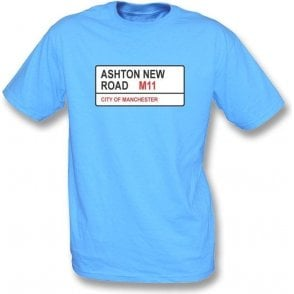 Ashton New Road M11 Kids T-Shirt (Man City)
