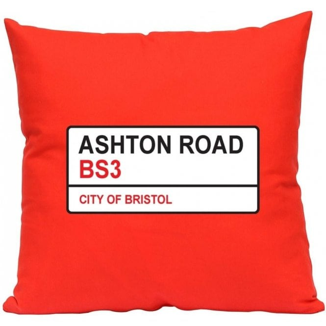 Ashton Road BS3 (Bristol City) Cushion