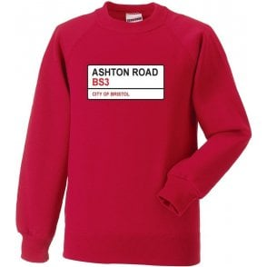 Ashton Road BS3 Sweatshirt (Bristol City)