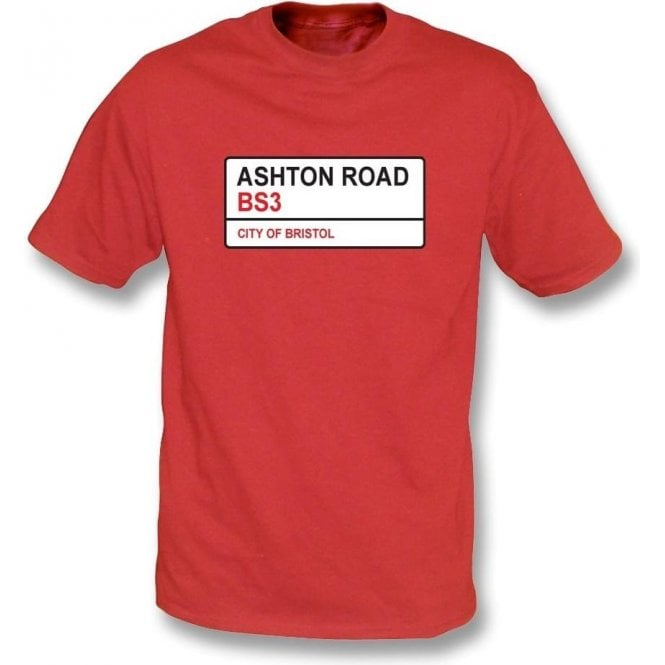 Ashton Road BS3 T-Shirt (Bristol City)