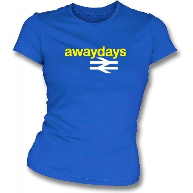 Away Days Womens Slim Fit T-Shirt