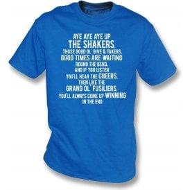 Aye Aye Up The Shakers (Bury) T-Shirt