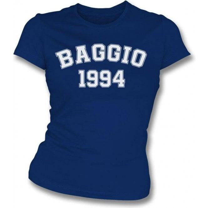 Baggio 1994 (Italy) Womens Slim Fit T-Shirt