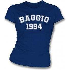 Baggio 1994 (Italy) Womens Slim Fit T-Shirt