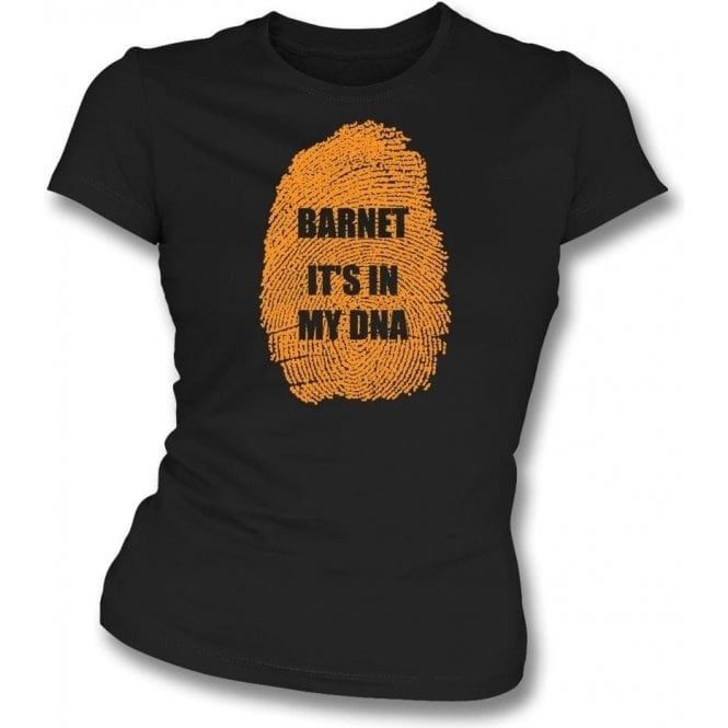 Barnet - It's In My DNA Womens Slim Fit T-Shirt