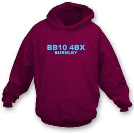 BB10 4BX Burnley Hooded Sweatshirt (Burnley)