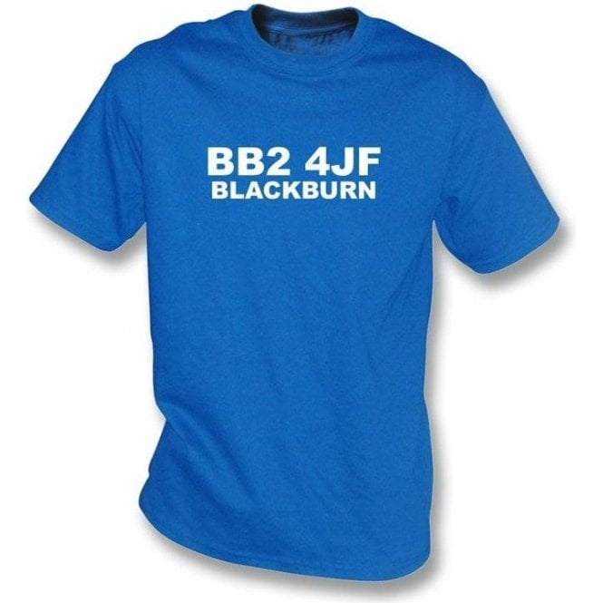 BB2 4JF Blackburn T-Shirt (Blackburn Rovers)