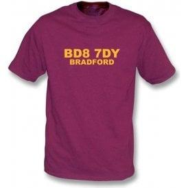 BD8 7DY Bradford T-Shirt (Bradford City)