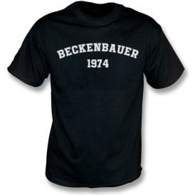 Beckenbauer 1974 (Germany) Kids T-Shirt