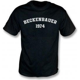 Beckenbauer 1974 (Germany) T-Shirt