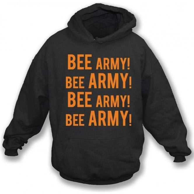 Bee Army! (Barnet) Kids Hooded Sweatshirt