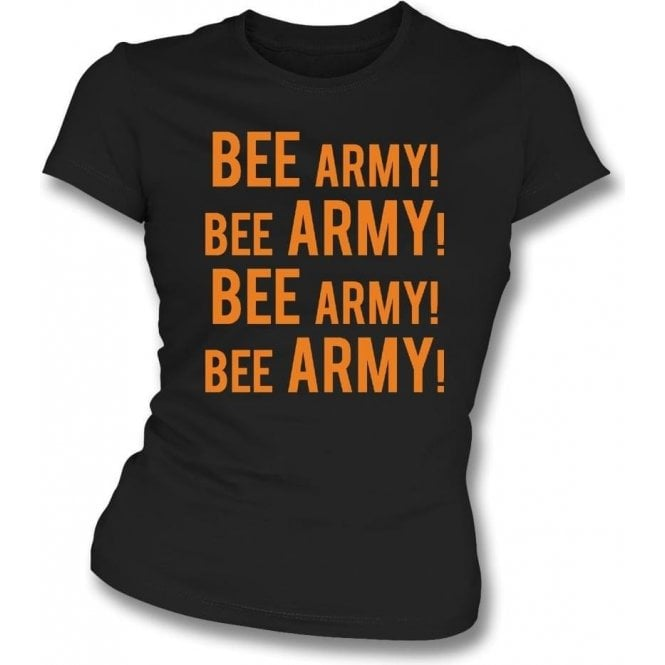 Bee Army! (Barnet) Womens Slim Fit T-Shirt