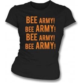 Bee Army! (Barnet) Womens Slim Fit T-Shirt