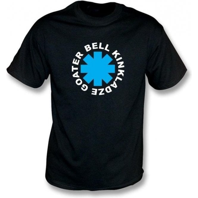 Bell, Goater, Kinkladze Chili Peppers style t-shirt