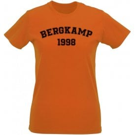 Bergkamp 1998 (Netherlands) Womens Slim Fit T-Shirt