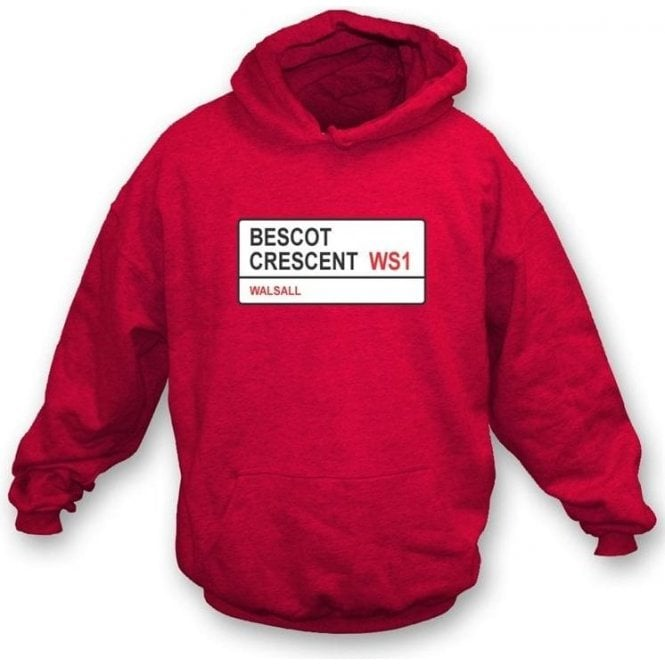 Bescot Crescent WS1 Hooded Sweatshirt (Walsall)